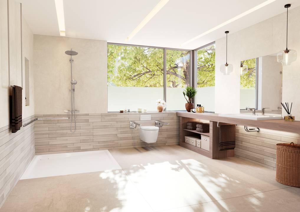 Altersgerechte Badsanierung by KAMTEC